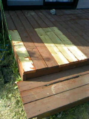 Wooddeckbefore